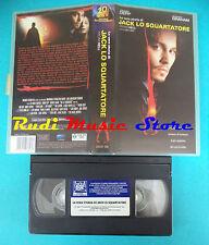 VHS film JACK LO SQUARTATORE 2002 Jonny Deep Heather Graham 20th fox (F3)*no dvd