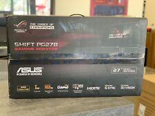 "ASUS ROG Swift PG278QR 27"" WQHD 165Hz G-SYNC Eye Care LED Gaming Monitor"