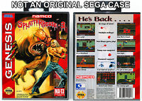 Splatterhouse 3 - Sega Genesis Custom Case *NO GAME*