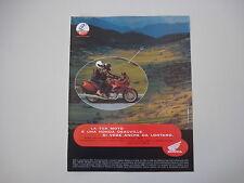 advertising Pubblicità 1998 MOTO HONDA DEAUVILLE