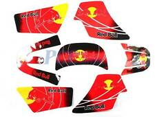 3M GRAPHICS DECAL STICKERS SET YAMAHA PW50 PEEWEE PW 50 RED H DE63