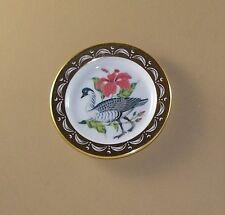 State Birds and Flowers Miniature Mini Plate Hawaii Hawaiin Goose Hibiscus