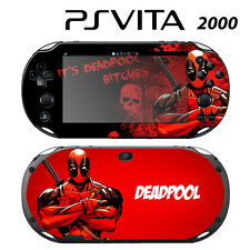 Vinyl Decal Skin Sticker for Sony PS Vita Slim 2000 Deadpool