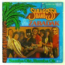 """7"""" Single - Saragossa Band - Zabadak - S2092 - washed & cleaned"""