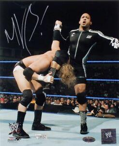 MVP Signed WWE 8x10 Photo (Fanatics Hologram & Steiner Hologram)