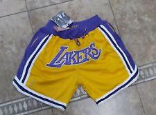 Vtg Los Angeles Lakers Shorts Sz L Men 90s Sport Nba 1996