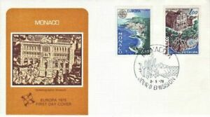 Monaco - Anniversaries, Events, People & Wildlife (2no. FDC's) 1972-78