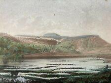 RARE - Aquatinte - MONT-DORE - Lac de Guéry  - 1850