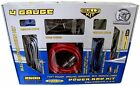 BULLZ AUDIO 4 Gauge Car Amplifier Amp Installation Power Red Wiring Kit | PPAK4R