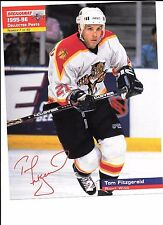 Tom Fitzgerald Unsigned 8x10 Stadium Giveaway 1995-96 Florida Panthers #7 of #40