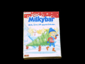 1:12th Dolls House Miniature Milky bar advent calendar-accessories-christmas