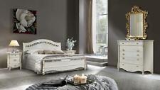 Schlafzimmer 5 tlg. Set Bett 2x Nachttisch Konsole Betten Doppel Hotel Polster