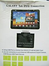 USB OTG Connection Kit & Card Reader for Samsung Galaxy TAB 10.1 P7500 P7510