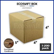 1 200 5x4x4 Ecoswift Cardboard Packing Mailing Shipping Corrugated Box Cartons