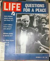 Life Magazine.  1972.  Questions for Peace