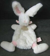 doudou lapin blanc rose bonbon rose doudou et compagnie état neuf
