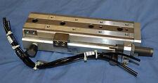 SMC cylinder MXQ20-100BSR, table slide, shock absorb, MXQ guided cylinder