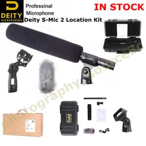 US Deity S-Mic 2 Location Kit Condenser Shotgun Microphone Broadcast Quality MIC
