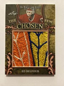 Ed Belfour The Chosen Few 1/1 2020/21 sick patch!!! HOF 🔥 🔥 🔥 🔥 🔥