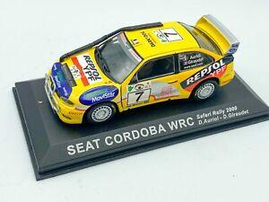 1:43 Seat Cordoba -- WRC Rally Car
