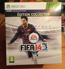 FIFA 14 sur Xbox 360, coffret collector, NEUF blister VF avec ballon Adidas