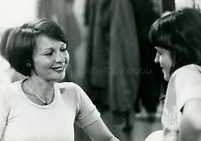 FRANCOISE ARNOUL  DERNIERE  SORTIE AVANT ROISSY 1977 VINTAGE PHOTO ORIGINAL