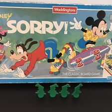 1990s Waddington Disney Spare Green Movers Set 4 Goofy