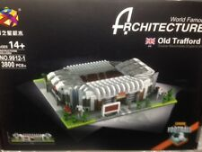 World Famous Old Trafford Stadium 3800+pcs  Building Blocks 9912-1