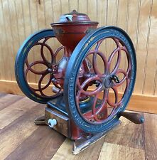 Antique Enterprise No.3 Double Wheel Hand Crank Coffee Mill Grinder Philadelphia