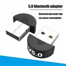 Bluetooth5.0 Wireless USB Transmitter Receiver Music Adapter Dongle High Speed
