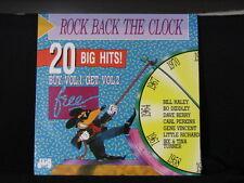 Rock Back The Clock. Vol. 1. 33 lp Record Album. Fats Domino Drifters Chiffons
