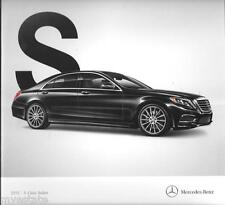 2015 15  Mercedes Benz S Class  Sedan  Original  brochure