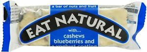 Eat Natural Yoghurt Cashew & Blueberries Bar - Pack of 12 x 45g (1 Box)