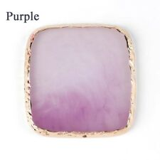 Golden Edge Agate Mix Pigment Holder Nail Art Painting Palette Resin Stone Nice