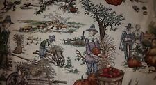 Custom Pumpkin Thanksgiving Pilgrim Plymouth Turkey Bath Cream Hand Towel Set 2