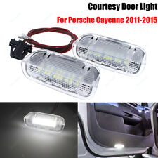 2X Canbus LED Courtesy Side Step Under Door Light For Porsche Cayenne 2011-2015