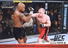 2009 TOPPS UFC ROUND 1 DEBUT  ROOKIE RC MARTIN KAMPMANN #49