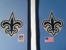 New Orleans saints football helmet decals set