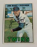 1967 Jim Kaat # 300 Minnesota Twins Topps Baseball Card
