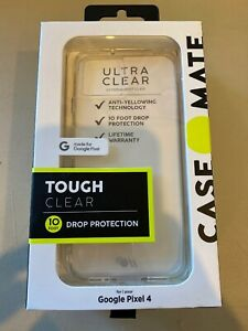 Case-Mate Tough Clear Case For Google Pixel 4 - Clear