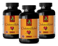 Skin care - CHOLESTEROL RELIEF NATURAL FORMULA - antioxidant anti aging - 3 Bot