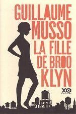 GUILLAUME MUSSO LA FILLE DE BROOKLYN + PARIS POSTER GUIDE