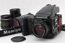【Near Mint】 Mamiya 645 Pro TL Medium Format Body w/80mm 55mm 150mm 210mm Lens