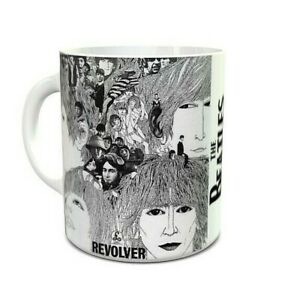The Beatles - Albums - Revolver - Album Art - Coffee MUG - Sixties Music Gifts