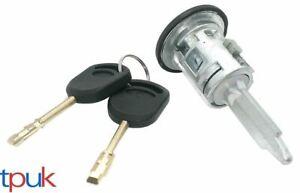 FRONT DOOR LOCK BARREL RIGHT FOR FORD TRANSIT MK6 MK7 2 KEYS DRIVER SIDE LATCH