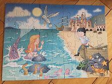 Little Mermaid Fairytale Floor Puzzle