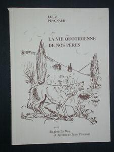 Vie quotidienne de nos pères - L. Peygnaud - Loup sorcier guérisseur Folklore
