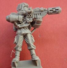FORGEWORLD CADIAN COMMAND Respirator TROOPER with MELTA GUN - Bits 40K