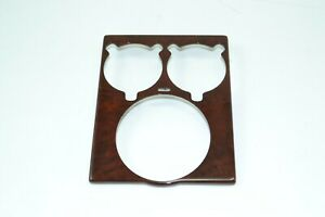 MAYBACH 57S 62S W240 V240 REAR SEAT CUP HOLDER BURRED WALNUT COVER A2408403127