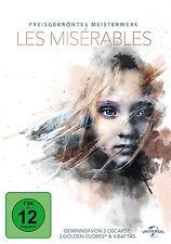 LES MISÉRABLES -HUGH JACKMAN/RUSSEL CROWE/ANNE HATHAWAY/AMANDA SECFRIED DVD NEU